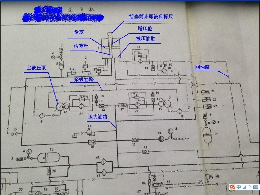 (图为国产某飞机燃油舱部分设计图)